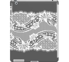 White lace ribbon. iPad Case/Skin