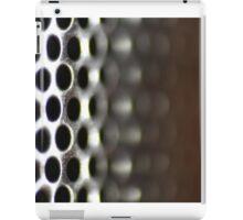 Metallic Hoop Texture - Shallow Focus iPad Case/Skin