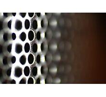Metallic Hoop Texture - Shallow Focus Photographic Print