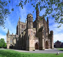 Hereford Cathedral by Phil Brown