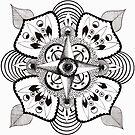 Eye Mandala by EmilySkelling