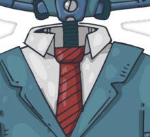 Gentleman Robot Sticker