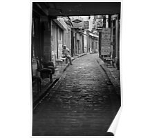 Street of the furniture makers, Paris Poster