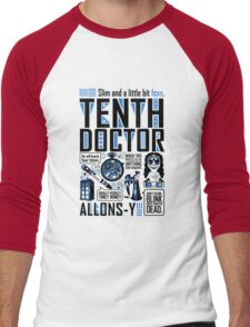 The Tenth Doctor Men's Baseball ¾ T-Shirt