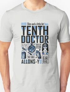 The Tenth Doctor Unisex T-Shirt