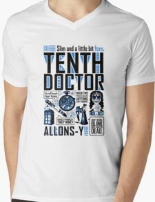 The Tenth Doctor Mens V-Neck T-Shirt