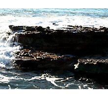 Sea meets land 3 Photographic Print