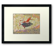 GOING FOR A RIDE Framed Print