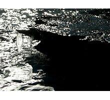Sea meets land 4 Photographic Print
