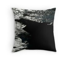 Sea meets land 4 Throw Pillow