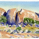 Split Rock,Kookynie.Western Australia by robynart