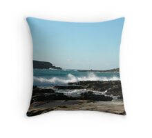 Sea meets land 6 Throw Pillow