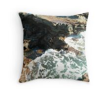 Sea meets land 8 Throw Pillow