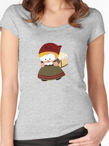Baby Pannier Women's Fitted Scoop T-Shirt