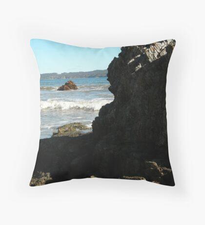 Sea meets land 10 Throw Pillow