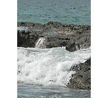 Sea meets land 11 Photographic Print