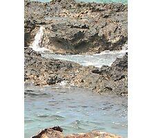 Sea meets land 12 Photographic Print