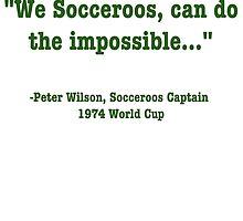 Peter Wilson by SocceroosActive