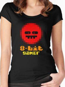 8-Bit Gamer Women's Fitted Scoop T-Shirt