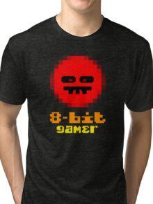 8-Bit Gamer Tri-blend T-Shirt