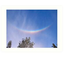 The Sky Smiles - Really It Did! Art Print