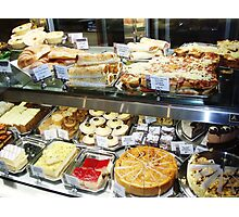 Shopfront - Cakes and Pastries Photographic Print
