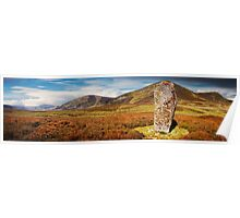 Clach Mhic Mhios - Standing Stone Poster