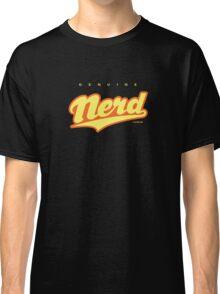 GenuineTee - Nerd (yellow/orange) Classic T-Shirt
