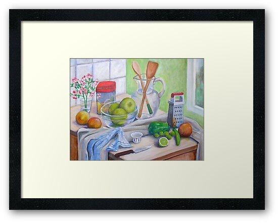 Still Life by Window by nancy salamouny
