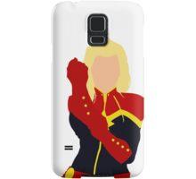 Captain Marvel Simplistic Samsung Galaxy Case/Skin