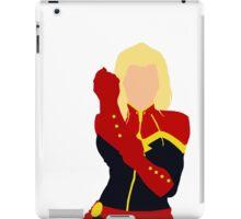 Captain Marvel Simplistic iPad Case/Skin