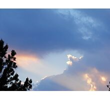 On Angels Wings Photographic Print