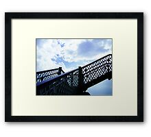 Up, and up! Framed Print