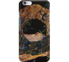 Fracture XLV - photographic montage iPhone Case/Skin