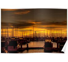 Hillarys Boat Harbour. WA Poster