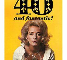 GREETING CARD HAPPY 40TH BIRTHDAY #2 by westox