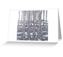 Tree Line III Greeting Card