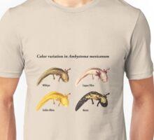 Axolotl Color Variations Unisex T-Shirt