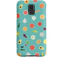 Fruit and Vegetables Samsung Galaxy Case/Skin