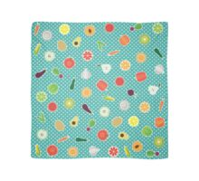 Fruit and Vegetables Scarf
