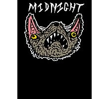 Midnight Black Photographic Print