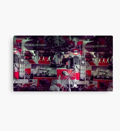 UK Culture Canvas Print