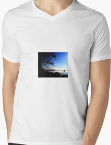 Zen. Mens V-Neck T-Shirt