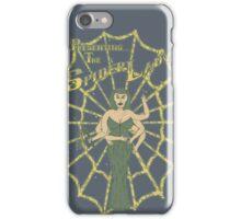 Spider Lady II iPhone Case/Skin