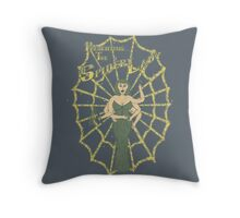 Spider Lady II Throw Pillow
