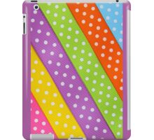 Colorful ribbon iPad Case/Skin