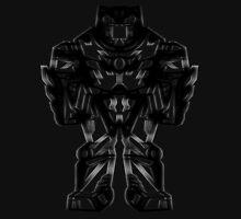 Batman V Superman Armor (exclusive matte vibranium effect) ©peewiedesigns T-Shirt