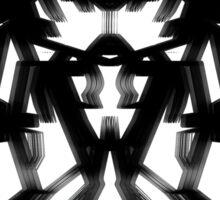 Batman V Superman Armor (exclusive matte vibranium effect) ©peewiedesigns Sticker