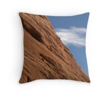 Rockface Throw Pillow