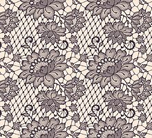 Lace seamless pattern. by Laces